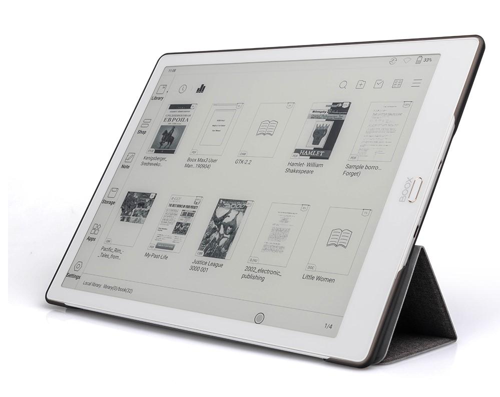 נרתיק איכותי מקורי לקוראי ספרים אלקטרוניים BOOX MAX3